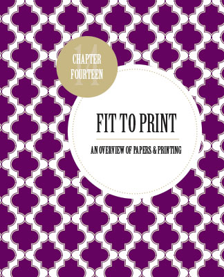 Fit to Print: White Space is Not Your Enemy Chapter 14